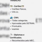 Homem denuncia que criminosos oferecem dinheiro, CNHs e diplomas falsos por aplicativo de mensagens, em Goiânia