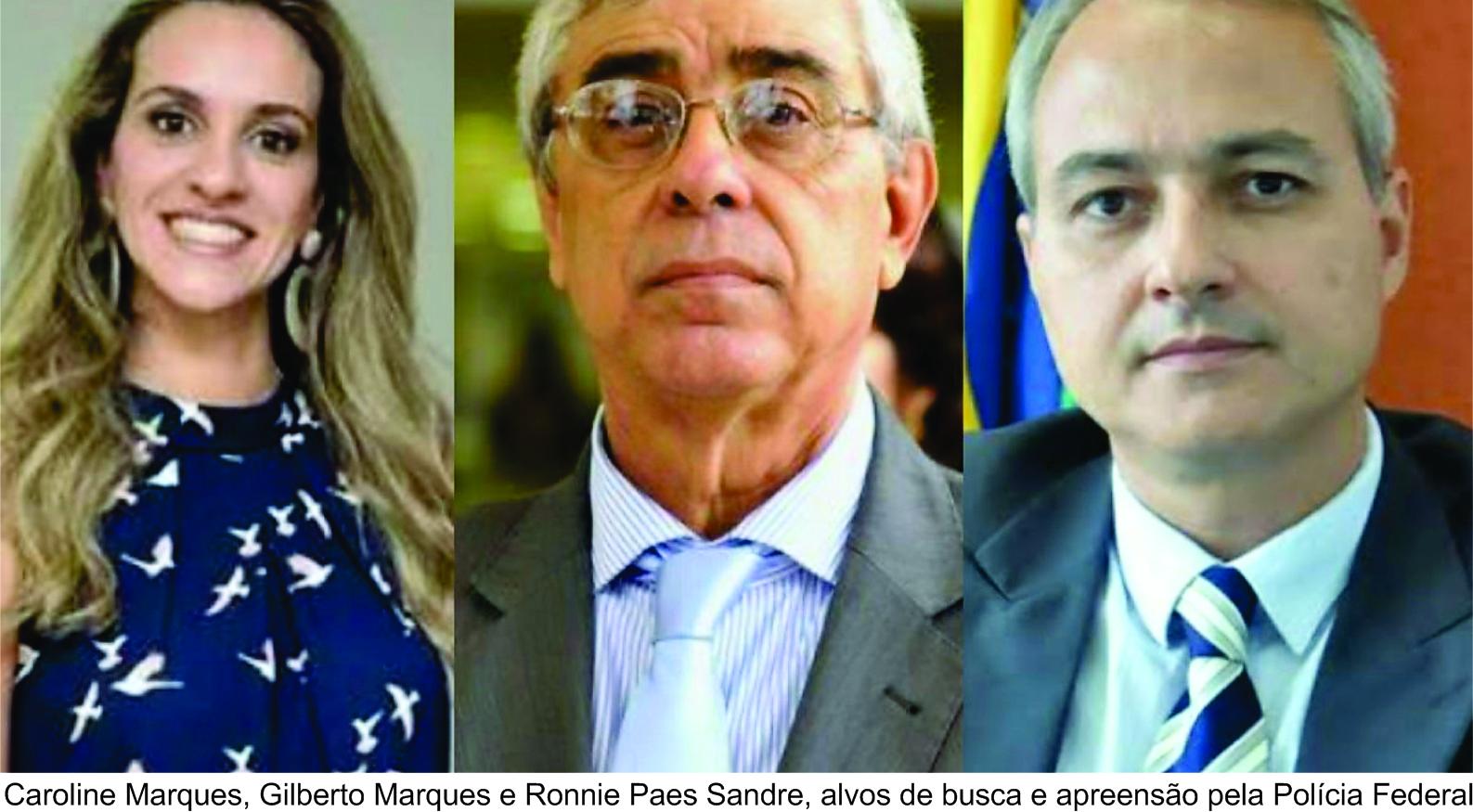 A lama esparramada pelo Tribunal de Justiça de Goiás