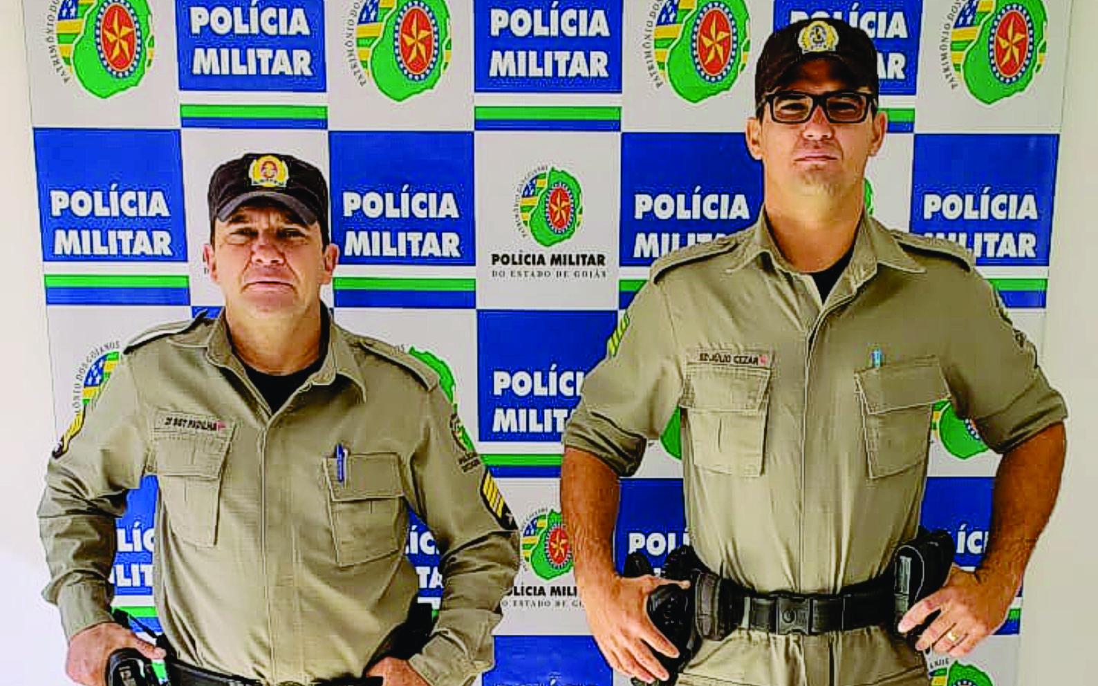 Jussara: Ação rápida e eficiente de policiais militares evita consumação de suicídio