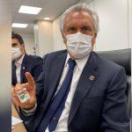 Caiado afirma que Goiás vai receber vacina contra Covid-19 a partir de janeiro: 'Cada frasco imuniza 10 pessoas'