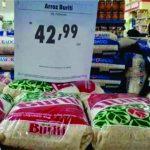 Governo de Goiás reduz imposto do arroz e preço deve ser reduzido no mercado