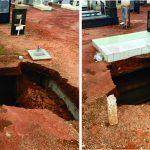 São Luís: Chuvas expõem fragilidade de obras do Cemitério Park