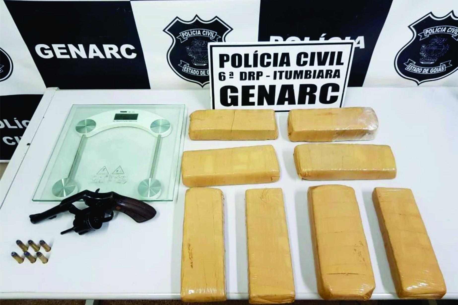 Polícia Civil prende casal suspeito de traficar a mando do filho