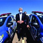Caiado entrega mais de 400 novas viaturas e equipamentos para profissionais da segurança pública