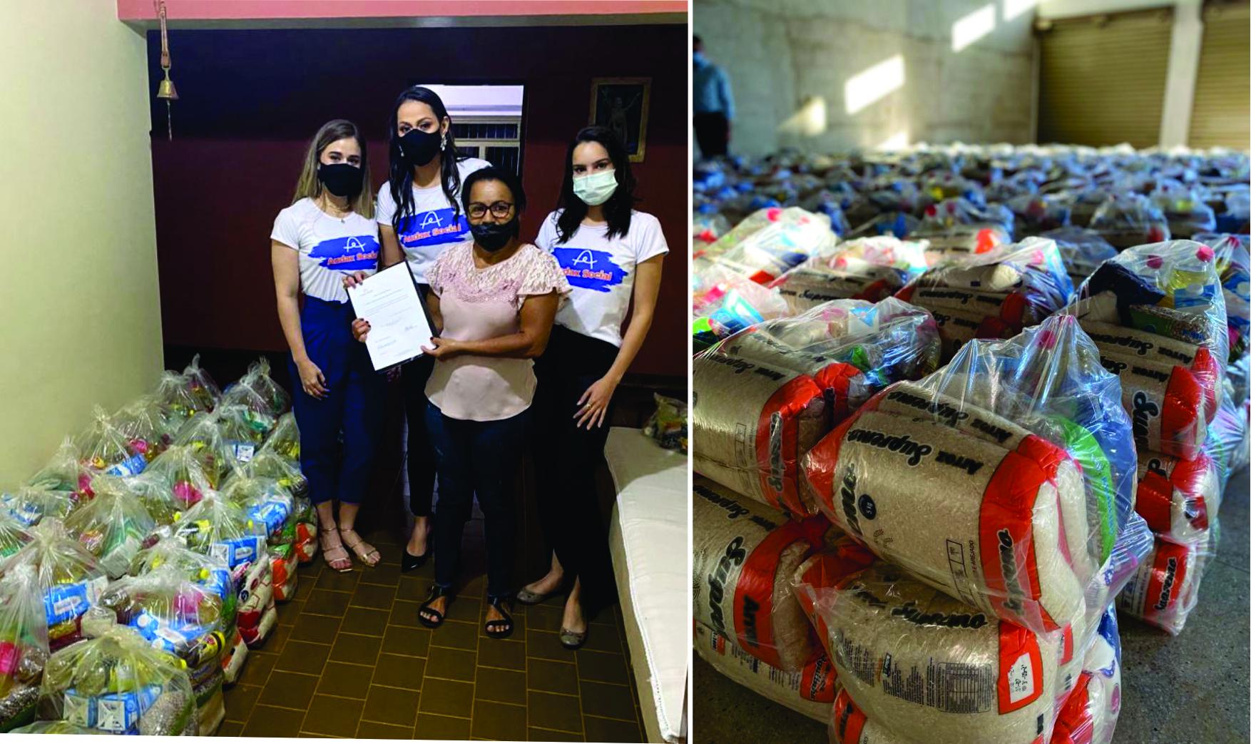 Abril Solidário: Ação solidária promovida pela Audax arrecada toneladas de alimentos
