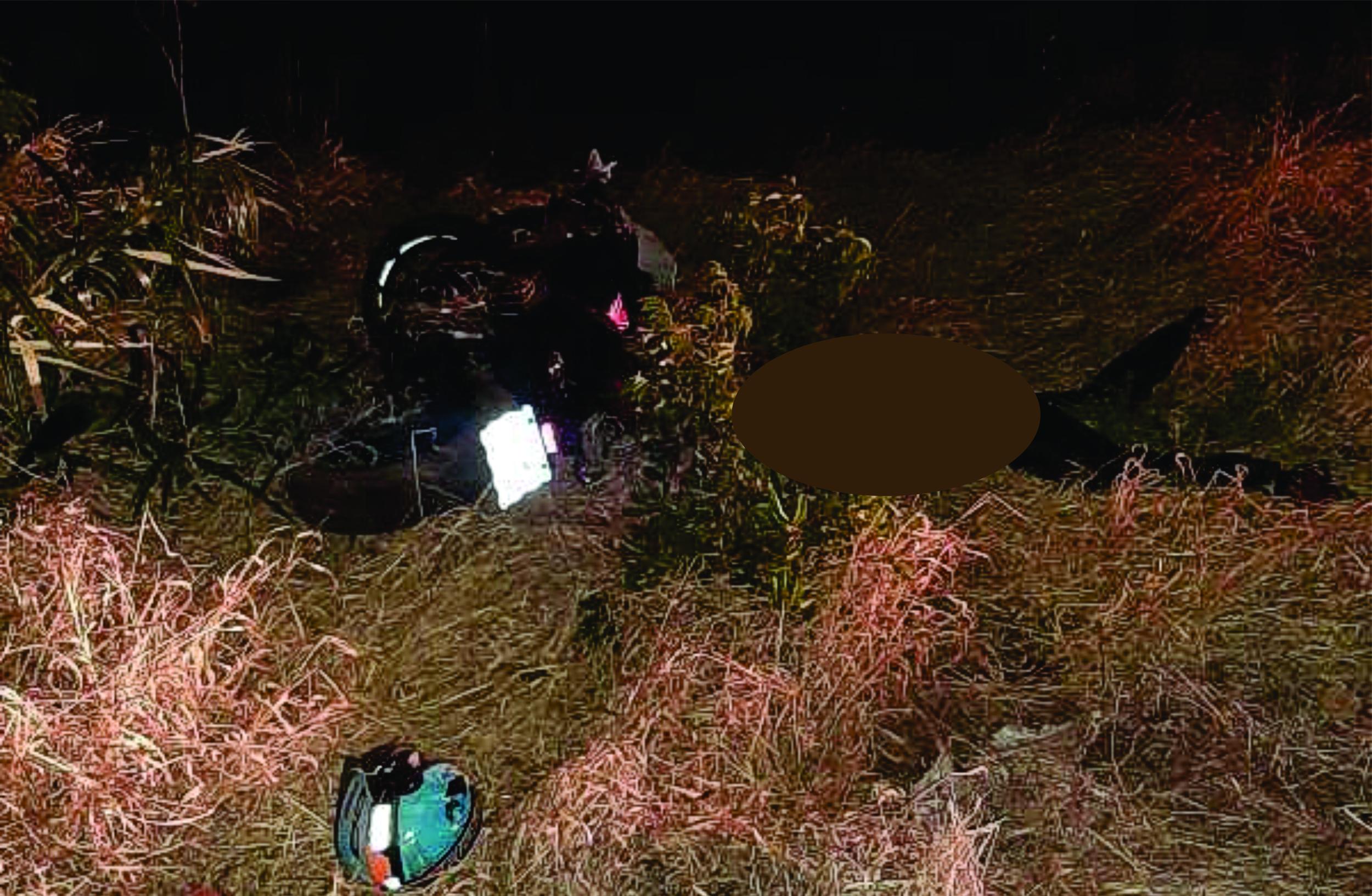 Cachoeira de Goiás: Motociclista se envolve em acidente em rodovia e é encaminhado para Goiânia em estado grave